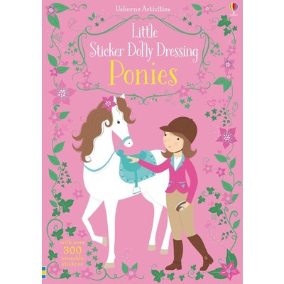 EDC PUBLISHING LITTLE STICKER DOLLY DRESSING