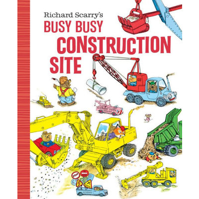GOLDEN BOOKS BUSY BUSY CONSTRUCTION SITE BB SCARRY