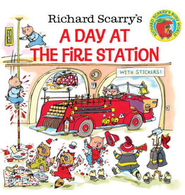 RANDOM HOUSE DAY AT THE FIRE STATION PB SCARRY