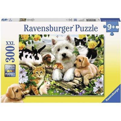 RAVENSBURGER USA HAPPY ANIMAL BUDDIES 300 PIECE