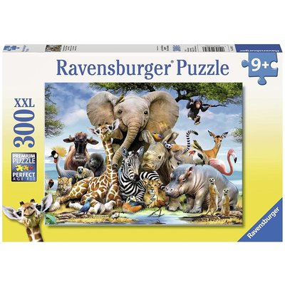 RAVENSBURGER USA AFRICAN FRIENDS 300 PC PUZZLE