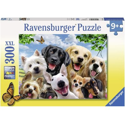 RAVENSBURGER USA DELIGHTED DOGS 300 PC PUZZLE