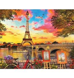 SPRINGBOK PARIS SUNSET 350 PC PUZZLE