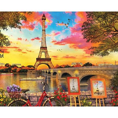 SPRINGBOK PARIS SUNSET 350 PC PUZZLE