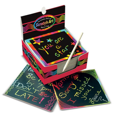 MELISSA AND DOUG BOX OF RAINBOW MINI NOTES