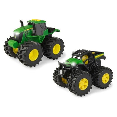 TOMY JOHN DEERE MONSTER TREAD LIGHT & SOUND
