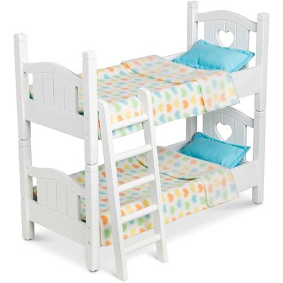 MELISSA AND DOUG DOLLS BUNK BED