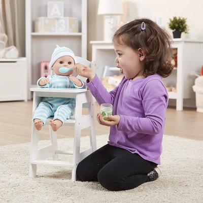 MELISSA AND DOUG DOLLS HIGH CHAIR