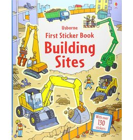 EDC PUBLISHING FIRST STICKER BOOK BUILDING SITES