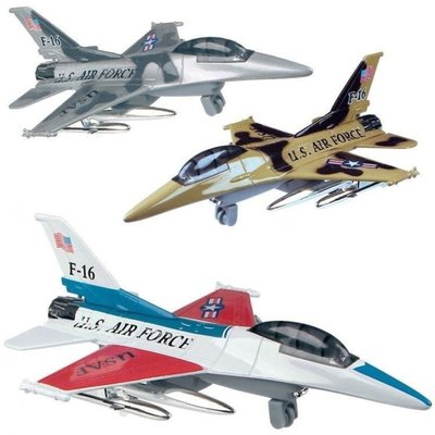 TOYSMITH AIR FORCE FLIERS
