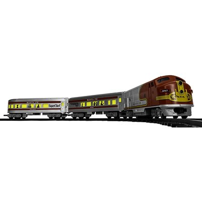 SANTA FE DIESEL PASSENGER READY TO PLAY SET LIONEL