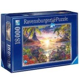 RAVENSBURGER USA PARADISE SUNSET 18000 PC PUZZLE