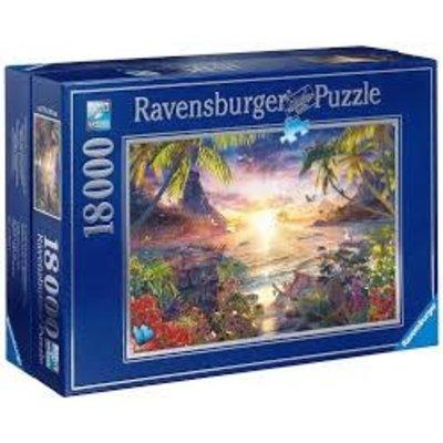 RAVENSBURGER USA PARADISE SUNSET 18000 PIECE