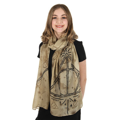 ELOPE HARRY POTTER DEATHLY HALLOWS LIGHTWEIGHT SCARF