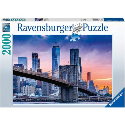 RAVENSBURGER USA NEW YORK SKYLINE 2000 PC PUZZLE