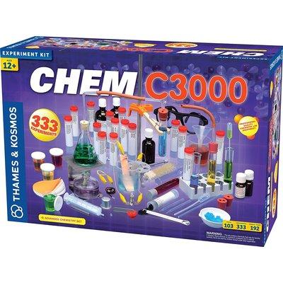 THAMES & KOSMOS CHEM C3000 CHEMISTRY SET