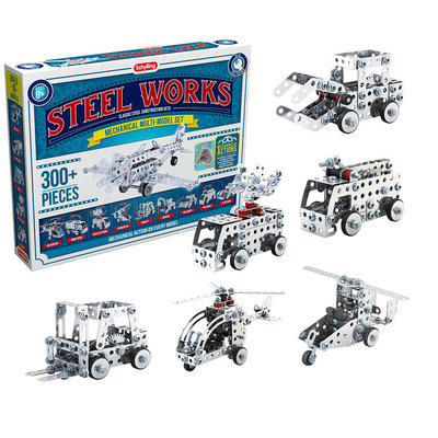 SCHYLLING ASSOCIATES STEEL WORKS MECHANICAL MULTI MODEL ERECTOR