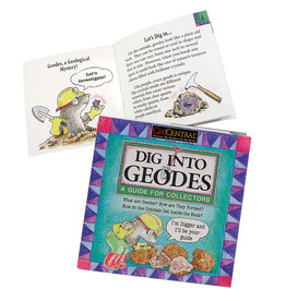GEO CENTRAL DIG INTO GEODES BOOK