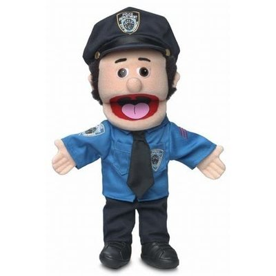 SILLY PUPPETS POLICEMAN PUPPET