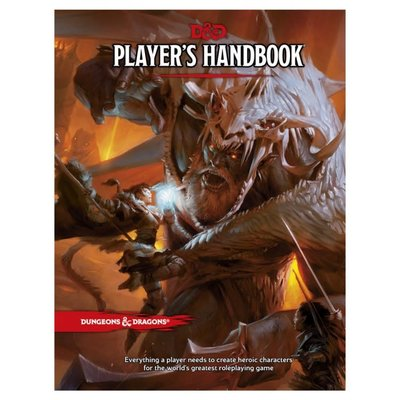 WIZARDS OF THE COAST D & D PLAYERS HANDBOOK HB