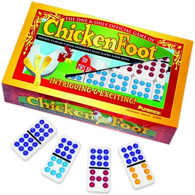 UNIVERSITY GAMES CHICKENFOOT GAME