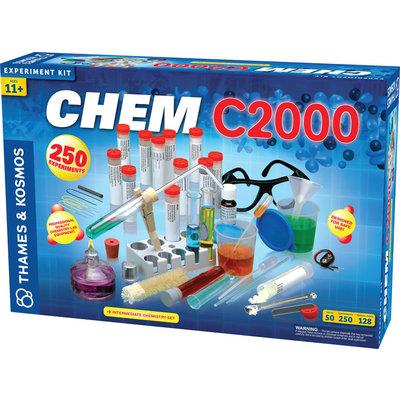 THAMES & KOSMOS CHEM C2000 CHEMISTRY SET