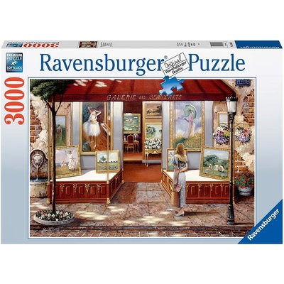 RAVENSBURGER USA GALLERY OF FINE ARTS 3000 PC PUZZLE