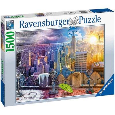 RAVENSBURGER USA DAY & NIGHT NYC SKYLINE 1500 PC