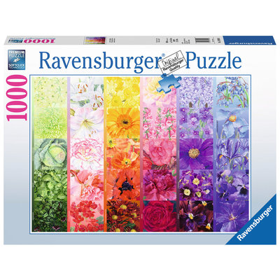 RAVENSBURGER USA THE GARDENER'S PALETTE 1000 PC PUZZLE