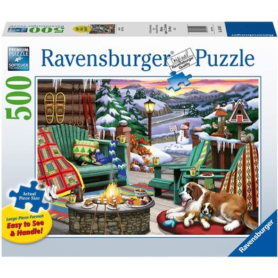 RAVENSBURGER USA APRES ALL DAY 500 PC PUZZLE