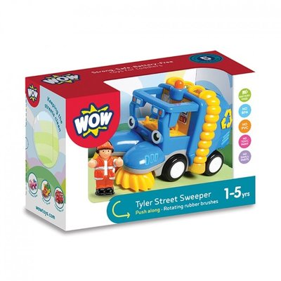 WOW TOYS USA TYLER STREET SWEEPER