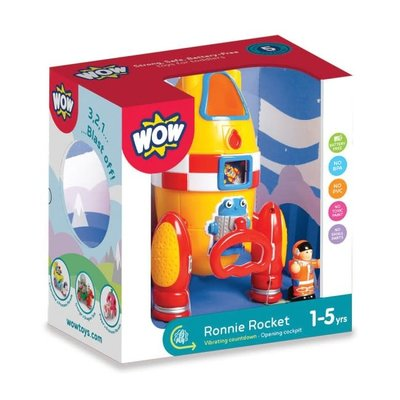 WOW TOYS USA RONNIE ROCKET