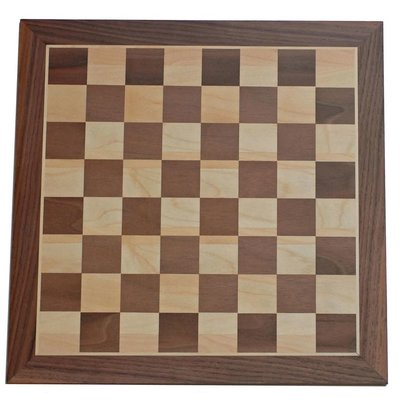 WOOD EXPRESSIONS CLASSIC WOOD CHESS BOARD