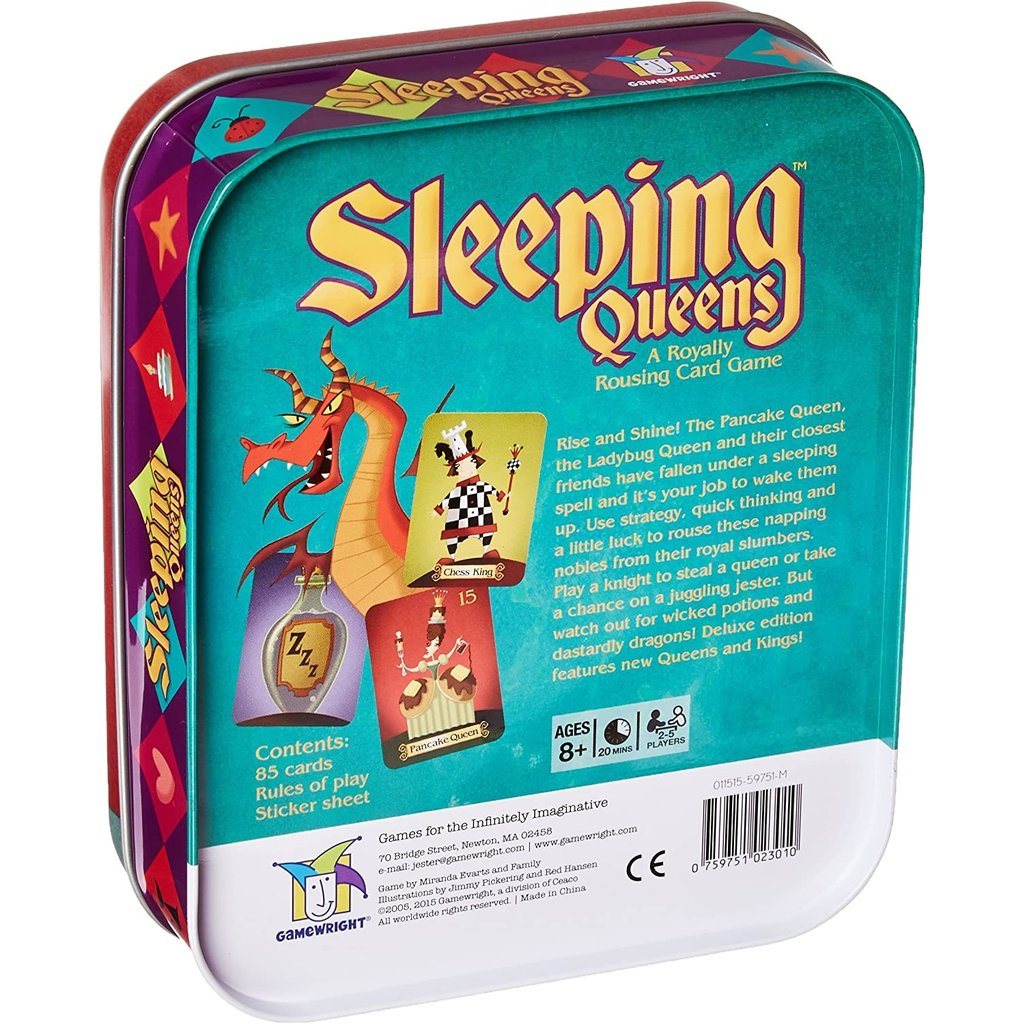 CEACO/ BRAINWRIGHT/ GAMEWRIGHT SLEEPING QUEENS IN TIN