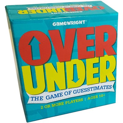 CEACO/ BRAINWRIGHT/ GAMEWRIGHT OVER UNDER PARTY GAME
