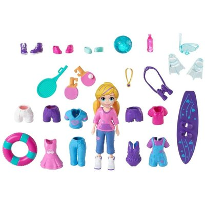 MATTEL POLLY POCKET FIGURE & ACCESSORIES