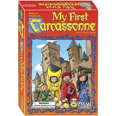 ASMODEE MY FIRST CARCASSONNE