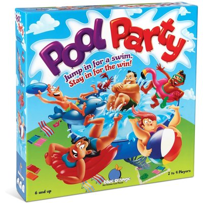 BLUE ORANGE GAMES POOL PARTY