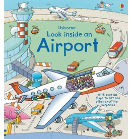 EDC PUBLISHING AIRPORT LOOK INSIDE BB USBORNE*