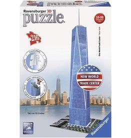 RAVENSBURGER USA ONE WORLD TRADE CENTER 3D PUZZLE