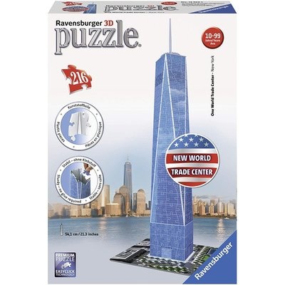 RAVENSBURGER USA ONE WORLD TRADE CENTER 3D PUZZLE