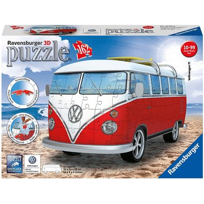 RAVENSBURGER USA VW BUS T1 CAMPERVAN 3D PUZZLE