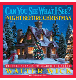 SCHOLASTIC CAN YOU SEE WHAT I SEE NIGHT BEFORE CHRISTMAS HB WICK