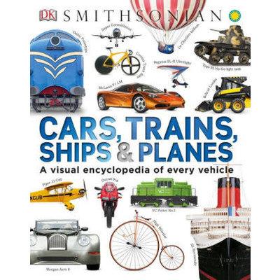 DK PUBLISHING CARS, TRAINS, SHIPS & PLANES