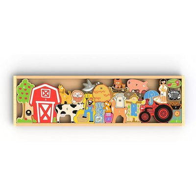 BEGIN AGAIN FARM A TO Z PUZZLE & PLAYSET