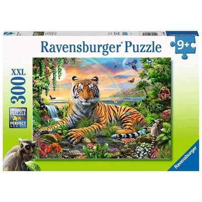 RAVENSBURGER USA JUNGLE TIGER 300 PCPUZLE