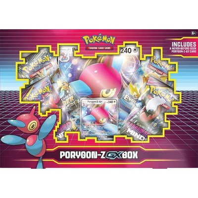 POKEMON INTERNATIONAL POKEMON PORYGON-Z GX BOX