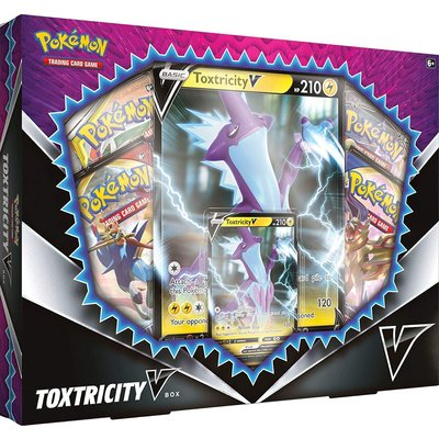 POKEMON INTERNATIONAL POKEMON TOXTRICITY V BOX