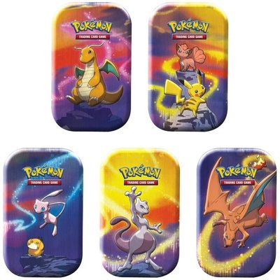POKEMON INTERNATIONAL POKEMON KANTO POWER MINI TIN