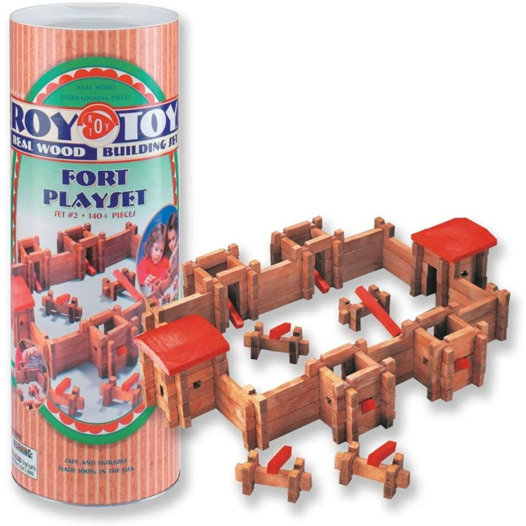 CHANNEL CRAFT & ... LINCOLN LOGS FORT